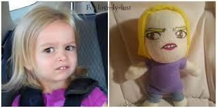 Chloe Memes - sideeyeing chloe meme plushie for lovelylust by micherushinearo on