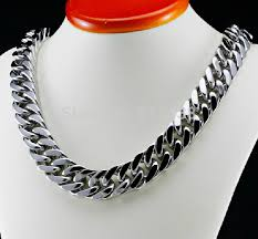 curb link necklace images Choose lengh 15mm men 39 s stainless steel large heavy cuban curb jpg