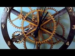 wood gear clock plans free kids furniture woodworking plans