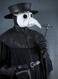 plague doctor hat plague doctor staff topper winged hourglass