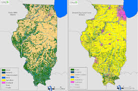 of illinois map illinois land cover maps the nature conservancy