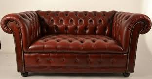 Burgundy Living Room Furniture by Decor Burgundy Leather Chesterfield Loveseat For Best Living Room