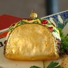 taco ornaments spice up cinco de mayo decor food and