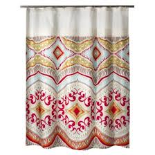 Target Kids Shower Curtain Cut Off The Top Add Some Red And Yellow Fabric Probably Silk
