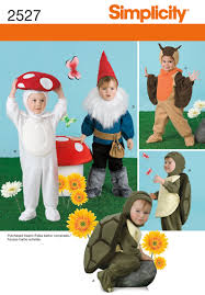 simplicity halloween costume patterns simplicity 2527 toddler costumes