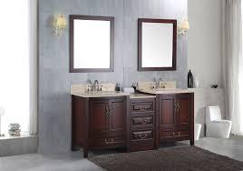 Solid Wood Vanities For Bathrooms Double 72