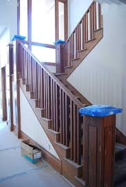 Home Depot Banisters Stairs Outstanding Wood Railings For Stairs Amusing Wood