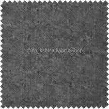 Velvet Chenille Upholstery Fabric Soft Like Crushed Velvet Chenille Upholstery Fabric Plain Slate
