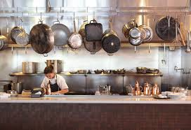 the expansive open kitchen at oenetri in napa a southern italian