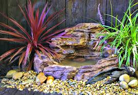 Backyard Waterfall Garden Waterfalls Backyard Pool U0026 Pondless Waterfall Kits