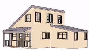 apartments shed style home plans modern shed house plans small