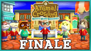 animal crossing happy home designer finale ending credits gameplay