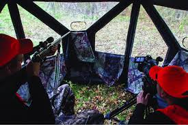 Bow Hunting From A Ground Blind Advanced Ground Blind Hunting Tips For Bow Hunters