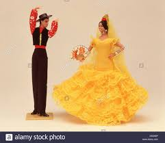souvenir spanish flamenco dancer dolls majorca mallorca