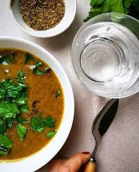 cuisiner les lentilles vertes soupe de lentilles vertes carottes et cumin gratinez