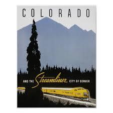 Colorado Book Travel images Vintage travel poster colorado retro train travel poster jpg