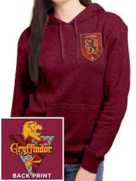 buy harry potter house gryffindor fitted hooded sweatshirt at