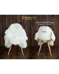 fur chair cover winter deals on my comfy zone sheepskin faux fur chair