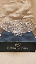 Crystal Pedestal Cake Stand Crystal Cake Stands Ebay