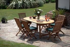 la baule teak dining set garden furniture humber imports