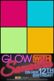 glow in the dark photobooth layout photo booth layout design