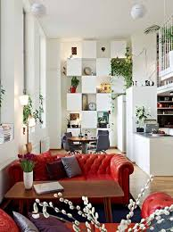 apartment artistic living room of contemporary apartment with