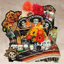 mexican gift basket dia de los muertos fancifull fancifull dia de los