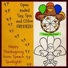 happy thanksgiving from speech sotlight speech spotlight