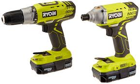 punch home design power tools ryobi p882 one 18v lithium ion drill and impact driver kit
