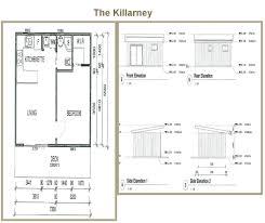 Granny Flat Floor Plans 1 Bedroom by All Purpose Homes Granny Flat Designs