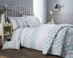 Duck Duvet Cotton Rich Garden Flower Design Duvet Set And Bedding Range In