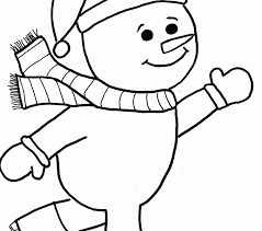 100 ideas colouring pages snowman emergingartspdx