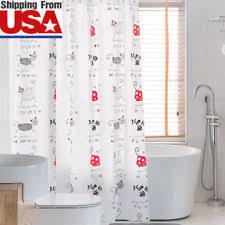 animal print vinyl shower curtains ebay