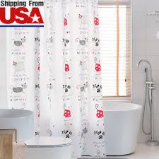 animal print vinyl shower curtains ebay