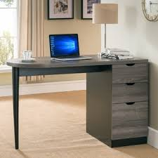 modern design home office weathered grey writing computer desk