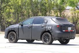 lexus harrier 2016 price 2016 lexus rx seven seater spied looks like lexus listen to their