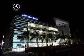 mercedes showroom germany mercedes research and development india formally opens its