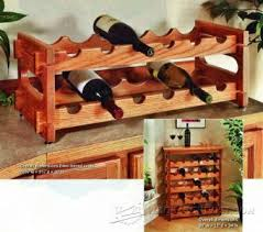wine rack table plans u2022 woodarchivist