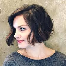 short haircusts for fine sllightly wavy hair short hairstyles for fine wavy hair 2015 modelrambut me