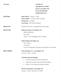 resume templates for highschool students resume resume for highschool students