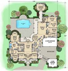 7 bedroom house plans european style house plans 15079 square foot home 2 story 7