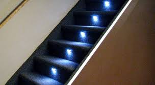 led strip lights for stairs reactive lighting automated led stair lighting controller solutions