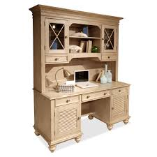 Computer Hutch Desk With Doors Riverside Coventry Shutter Door Credenza Desk Hayneedle