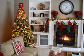 themed christmas decor family room christmas decor a traditional look lovely