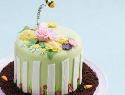 how to make a floral garden cake hobbycraft blog
