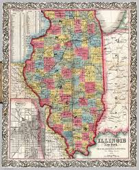 Map Illinois Map Of Illinois David Rumsey Historical Map Collection