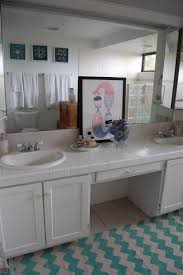 the fab miss b reinventing a furnished apartment bathroom makeover