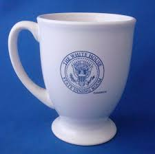 coffee cup the white house state dining room mug 8 ounce white m