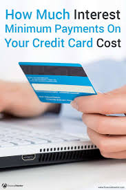 Formula Credit Card Minimum Payment Credit Card Minimum Payment Calculator