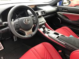 lexus rc f red interior welcome to club lexus rc f owner roll call u0026 member introduction